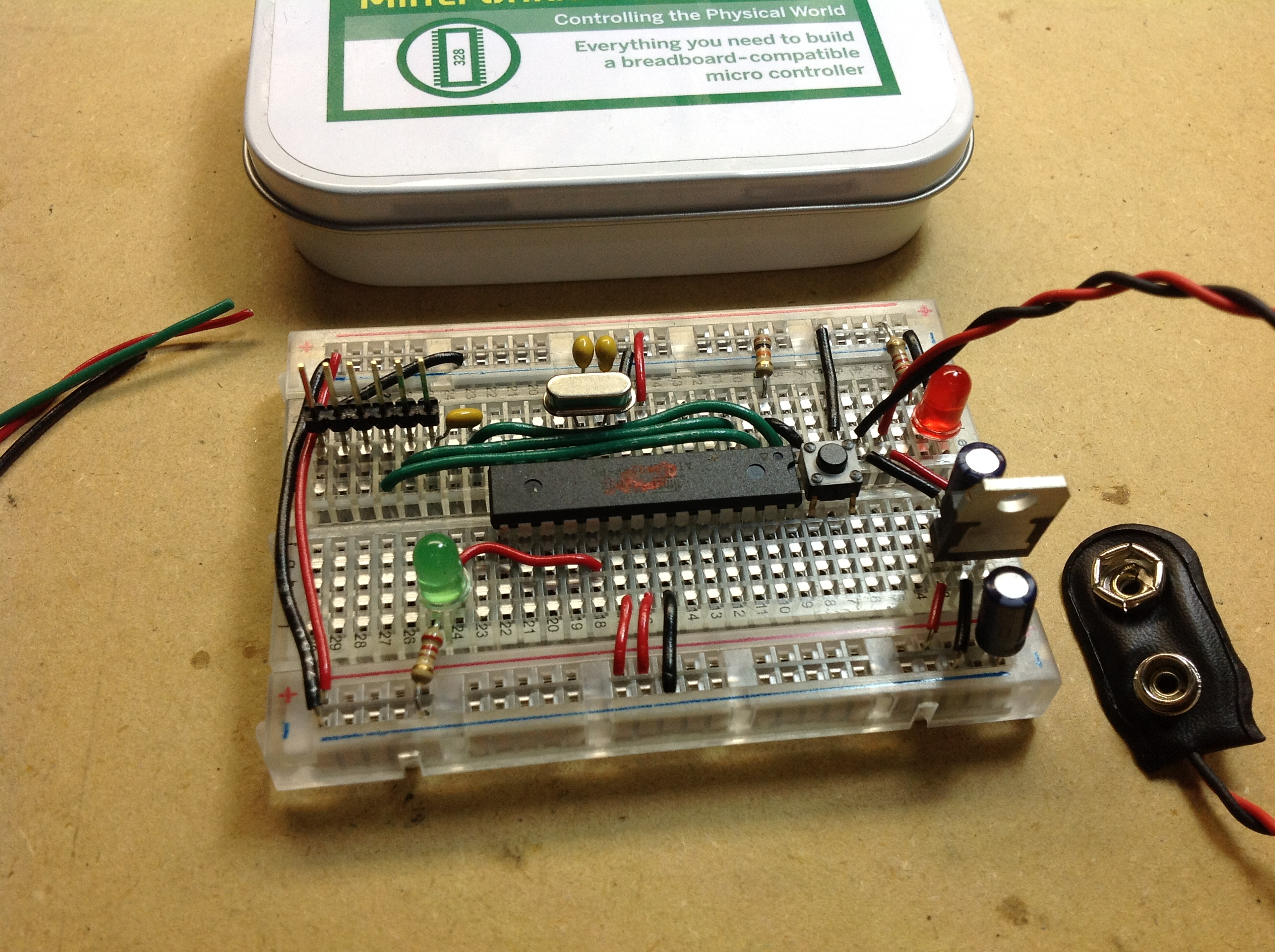 Review Mintduino Building An Arduino Compatible Breadboard Build Your Own Circuit On A Microcontroller