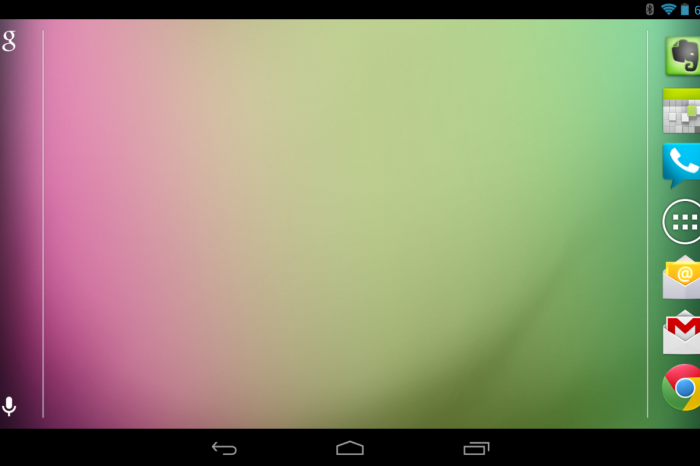 Android 4.1.2 Brings Nexus 7 Landscape Orientation Home!