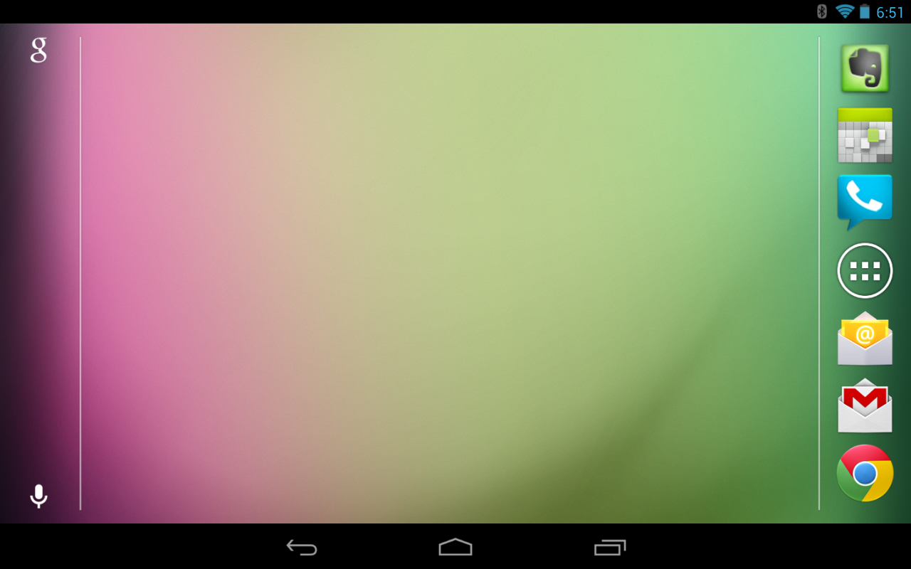 Android 4 1 2 Brings Nexus 7 Landscape Orientation Home