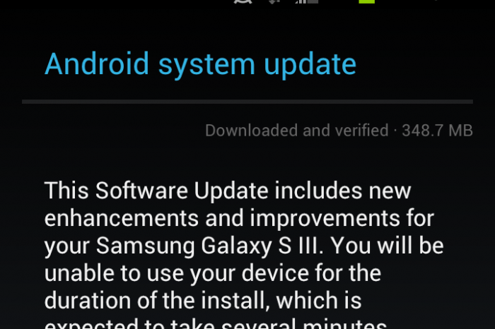 Sprint/Ting Galaxy S III Jelly Bean Update!