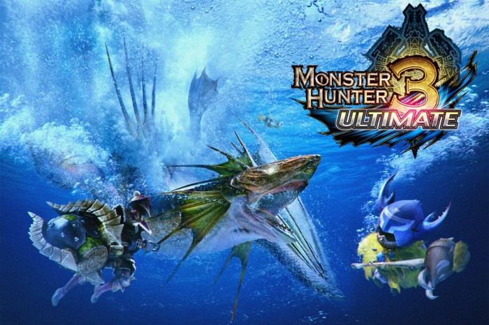 Monster Hunter 3 Ultimate for Wii U and 3DS